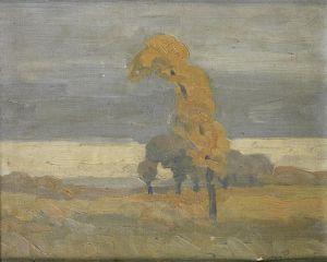 Jacob Hendrik Pierneef (1886-1957), Tree in the Veld