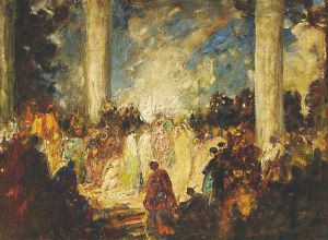 Tom Edwin Mostyn (1864-1930), The Slave Market