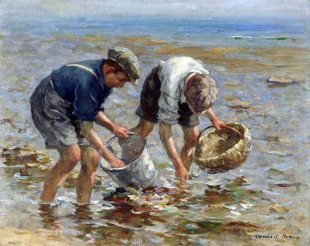 William-Marshall-Brown-(1863-1936)-Bait-gathering-oil-on-canvas.jpg