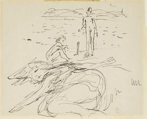Pierre Bonnard, Sur la Plage