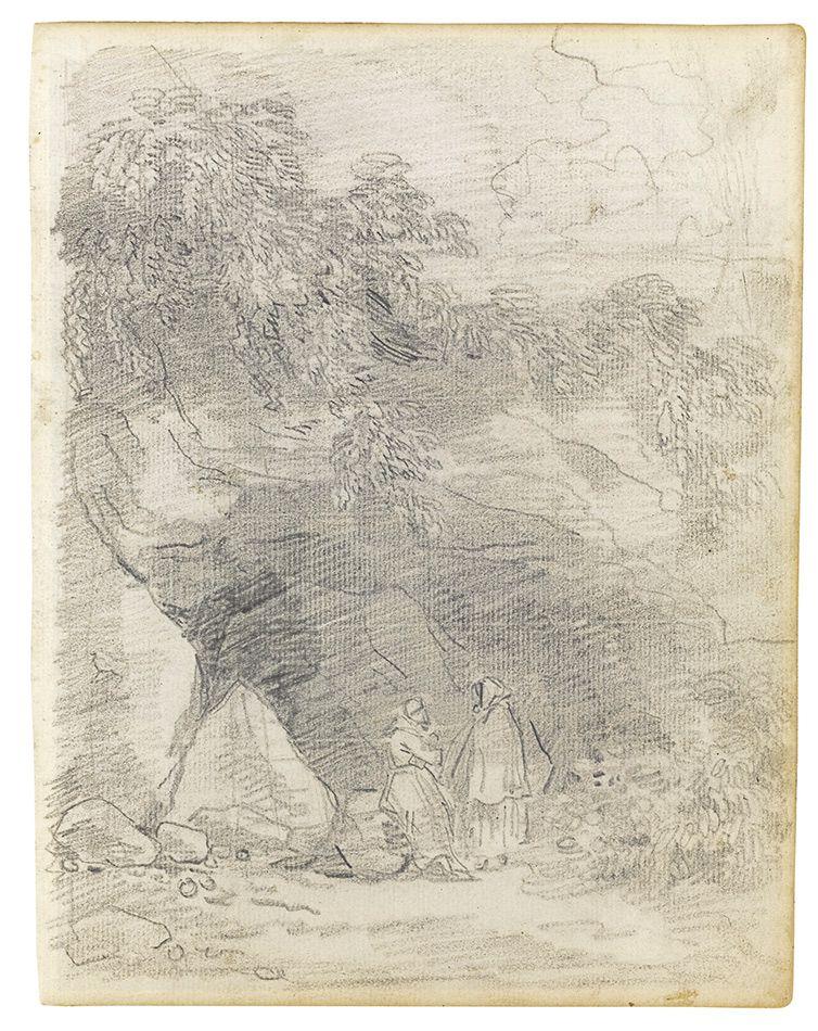 Hubert-Robert-(1733-1808)-Monks-Conversing-by-a-Rocky-Outcrop.jpg