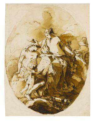 Giuseppe Berdardino Bison - The Education of Cupid