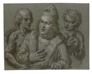 An allegory of Gluttony