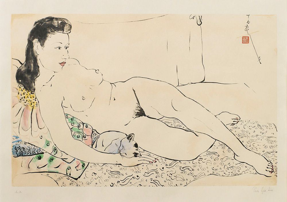 Pan-Yuliang-female-reclining-Nude-With-A-Cat.jpg