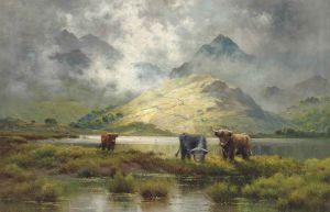 Alfred-Fontville-de-Breanski-(1877-1957),-Highland-mists.jpg