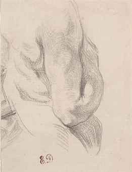 Eugene-Victore-Ferdinand-Delacroix---Torso-of-a-male-nude.jpg