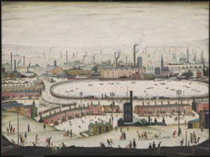 Laurence Stephen Lowry R.A. (1887 - 1976), The Pond