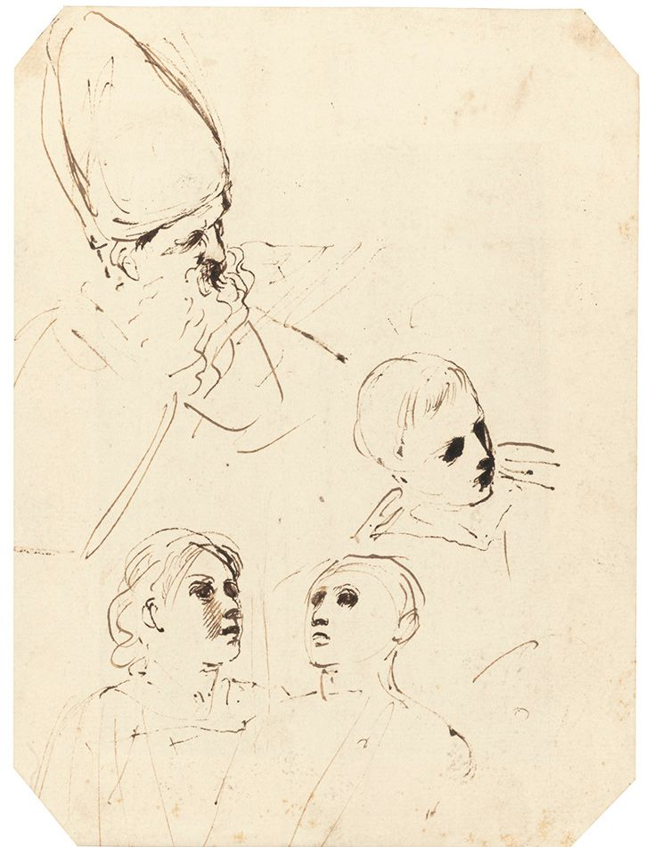 Il-Guercino-Studies-Of-Four-Heads-For-St.jpg