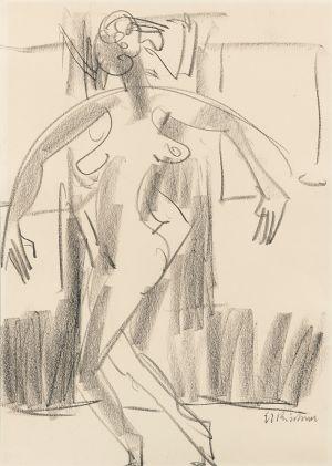 Ernst Ludwig Kirchner - Tanzerin (Dancer )