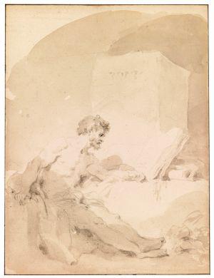Jean-Honoré Fragonard (1732-1806), The Prisoner
